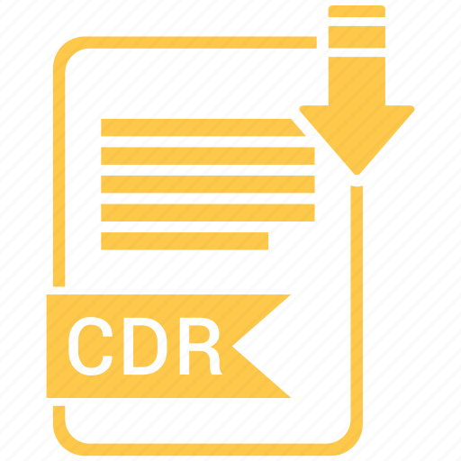 cdr, file format, image icon