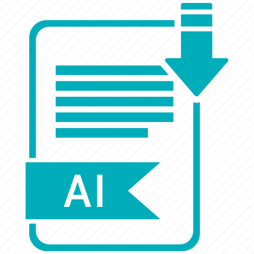 ai, document, extension, folder, paper icon