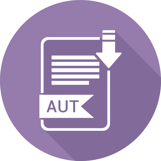 aut, document, file, format, type icon