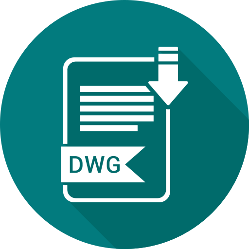 document, dwg, file, format, type icon