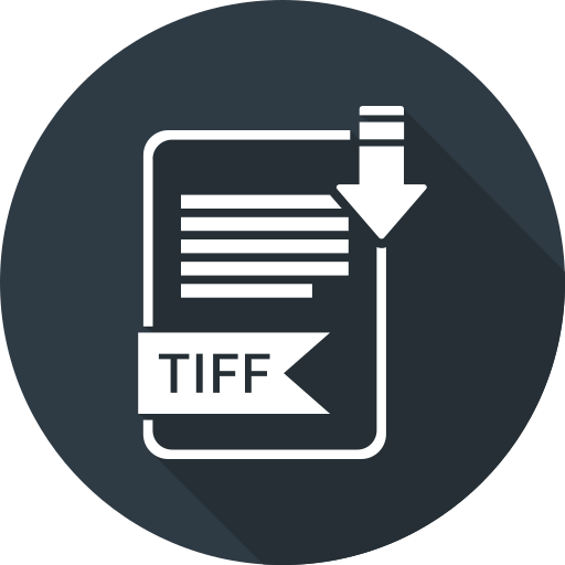 extensiom, file, file format, tiff icon