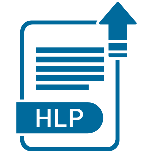 file form, file format, file formation, file formats, hlp icon