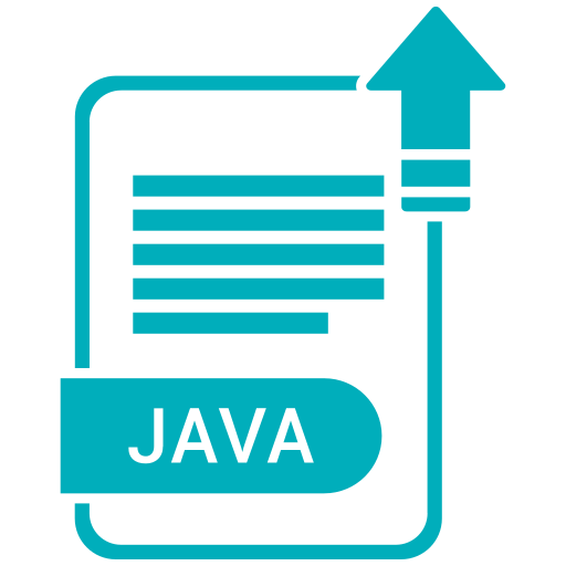 Extension, file, format, java, paper icon - Free download