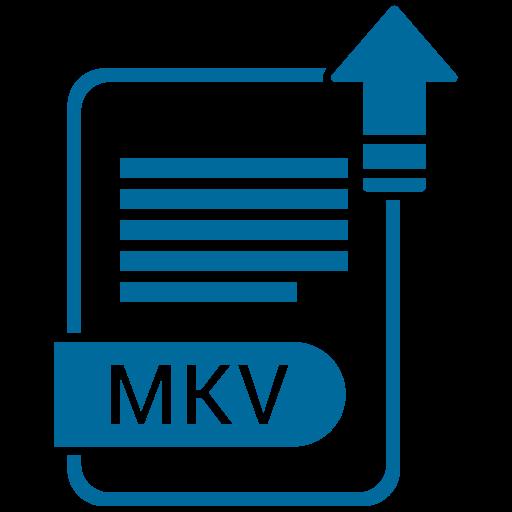 Document, extension, file, folder, format, mkv, paper icon - Free download