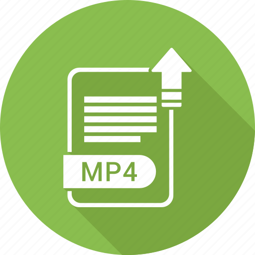 document, extension, file, file format, mp4, type icon