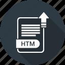 htm, extension, file, format