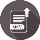 extension, file, format, mkv icon