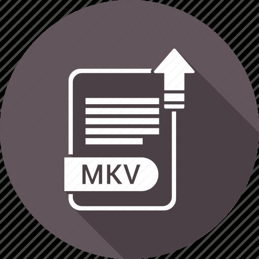 extension, file, format, mkv icon