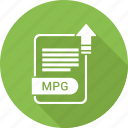 document, file, format, mpg, type