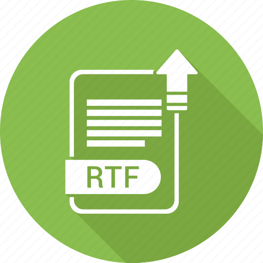 document, file, format, rtf, type icon