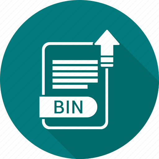 bin, document, file, format, type icon