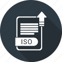 iso, document, type, file, format