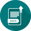 document, docx, extension, file, type