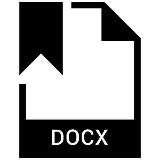 docx, file, format icon