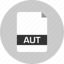 aut, document, extension, file, name, page icon