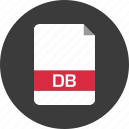 db, document, extension, file, name, page icon
