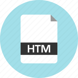 document, extension, file, htm, name, page icon