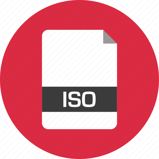 document, extension, file, iso, name, page icon