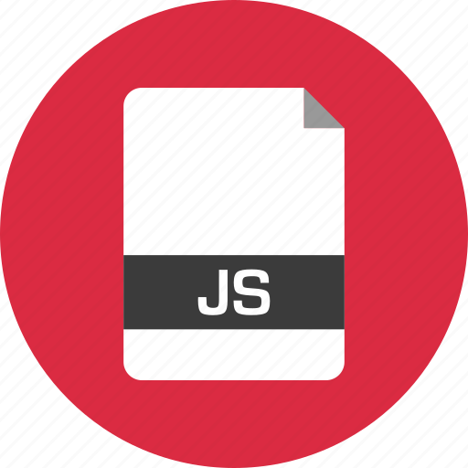 document, extension, file, js, name, page icon