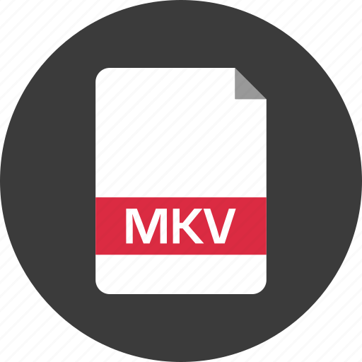 document, extension, file, mkv, name, page icon