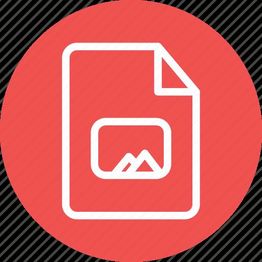 image, image file, photo, photo document, photo file icon
