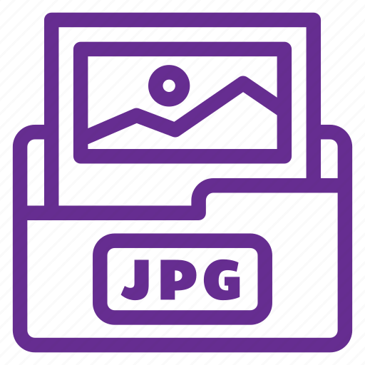 extension, file type, flat color, format, image file, jpeg file, jpg icon