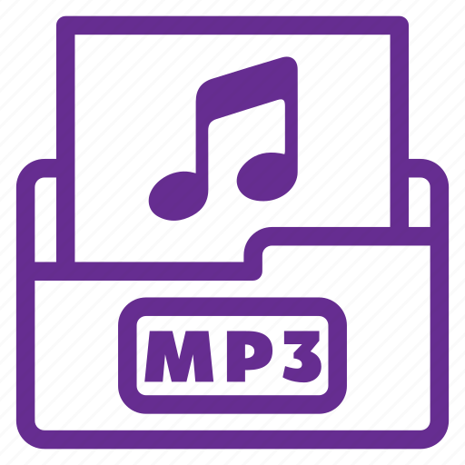 file type, flat color, mp3, mp3 file, music, player, video icon