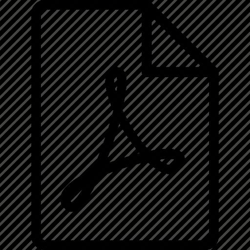 adobe, file, paper, pdf, sheet icon