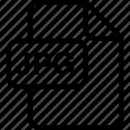 file, image, jpg, paper, sheet, type icon