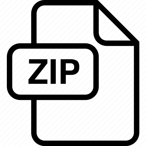 archive, file, paper, sheet, zip icon