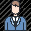 business, man, suit, user