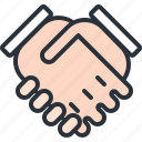 business, deal, hand, hand shake, partner