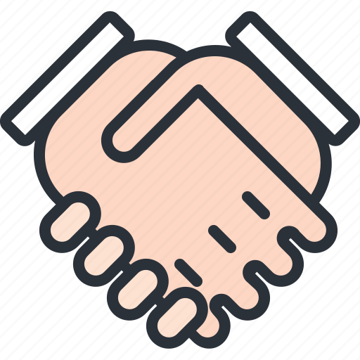 business, deal, hand, hand shake, partner icon