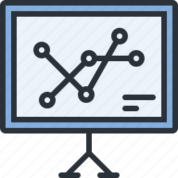 analytics, business, chart, diagram, statistics, stats icon