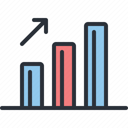 analytics, business, chart, diagram, profit, statistics, stats icon