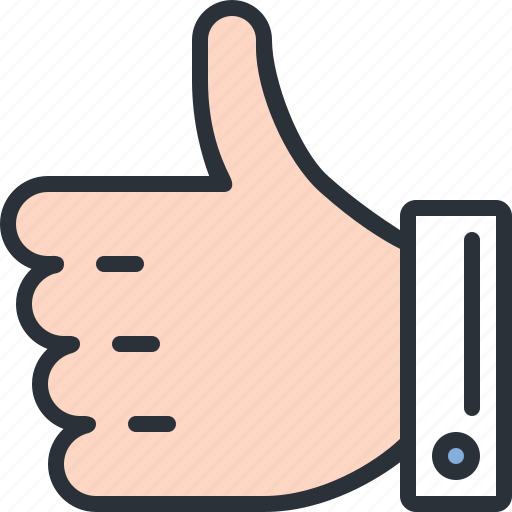 business, deal, hand, ok, thumbs, up icon
