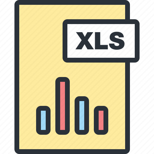 document, excel, file, office, paper, statistics icon