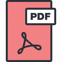 document, file, paper, pdf icon