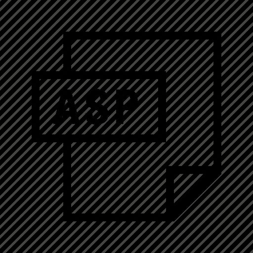 asp, filetypes icon