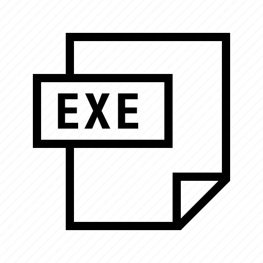 exe, executable, filetypes icon