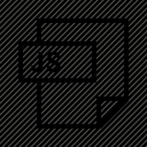 filetypes, javascript, js icon