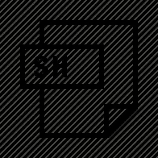 bash, filetypes, sh, shell icon