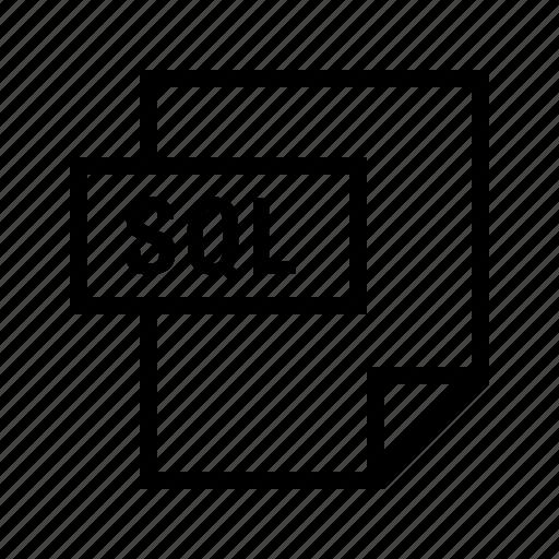 database, filetypes, mysql, postgres, sql icon