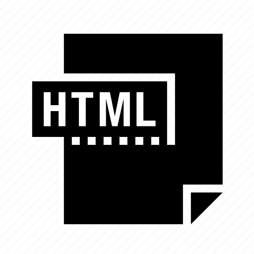 filetypes, html icon