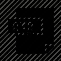 filetypes, quarkxpress, qxd icon