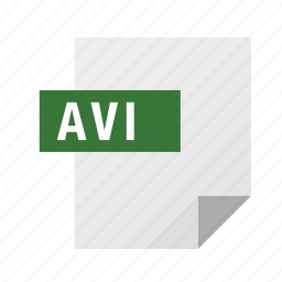 avi, filetypes, movie, video icon