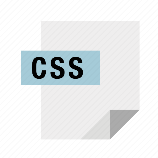 cascading, css, filetypes, stylesheets icon