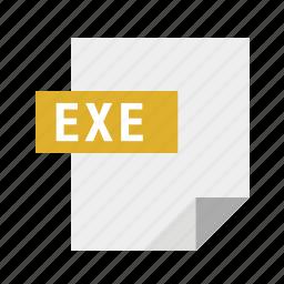 exe, executable, filetypes icon