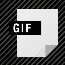 filetypes, gif, image icon