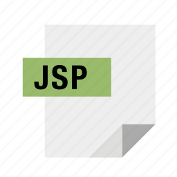 filetypes, java, jsp, pages, server icon